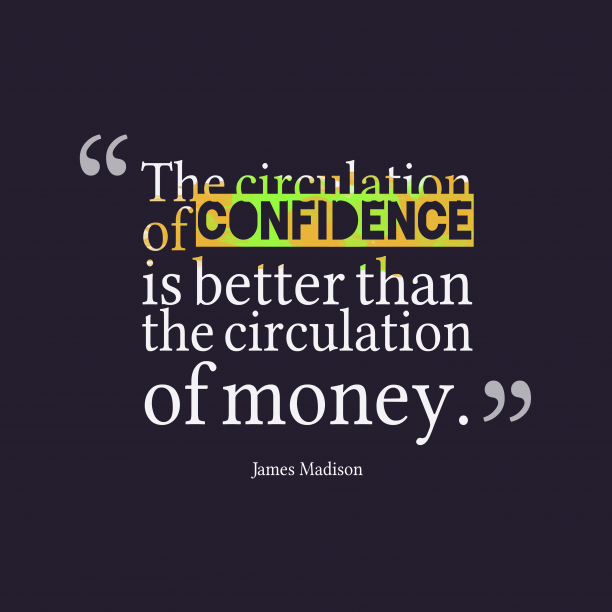 James Madisonquote about circulation.