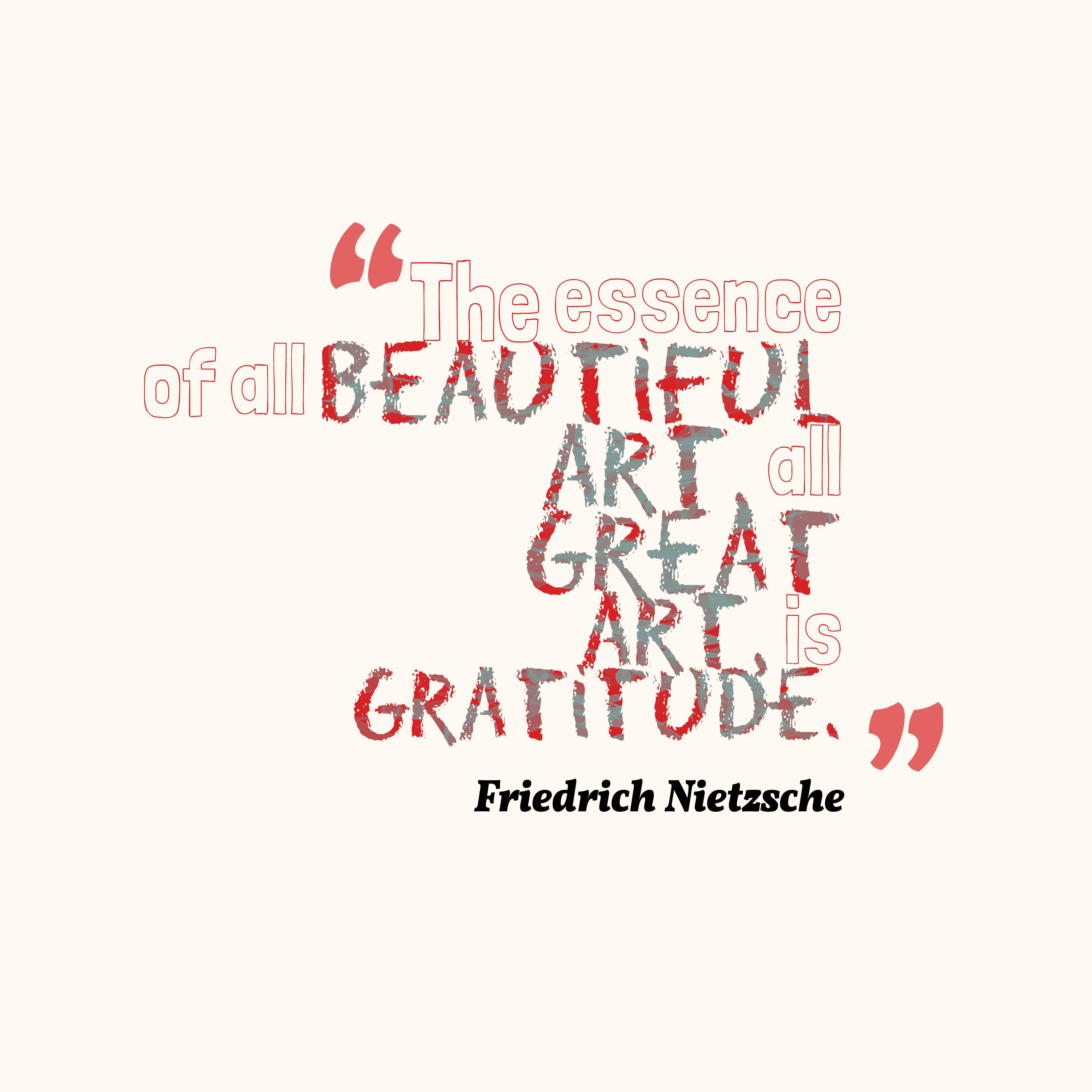 Friedrich Nietzsche Quote About Art