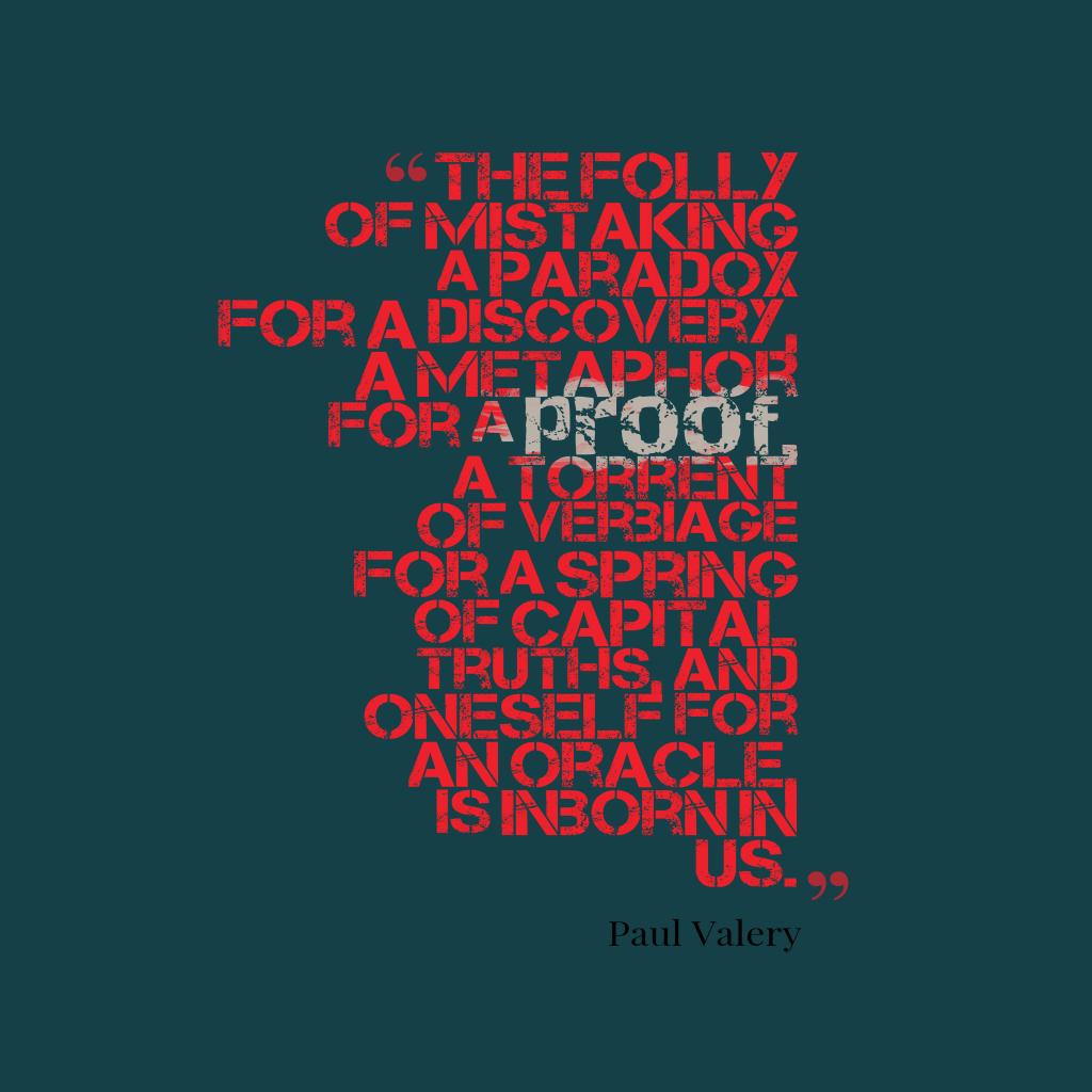 The folly of