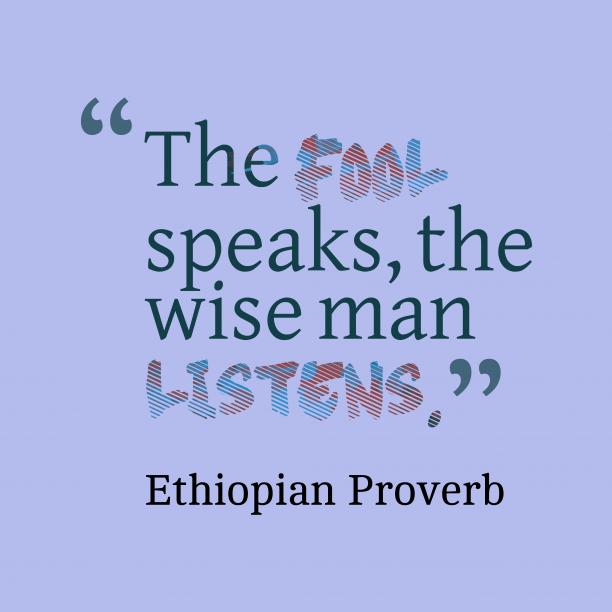 Nepali wisdom about reward.