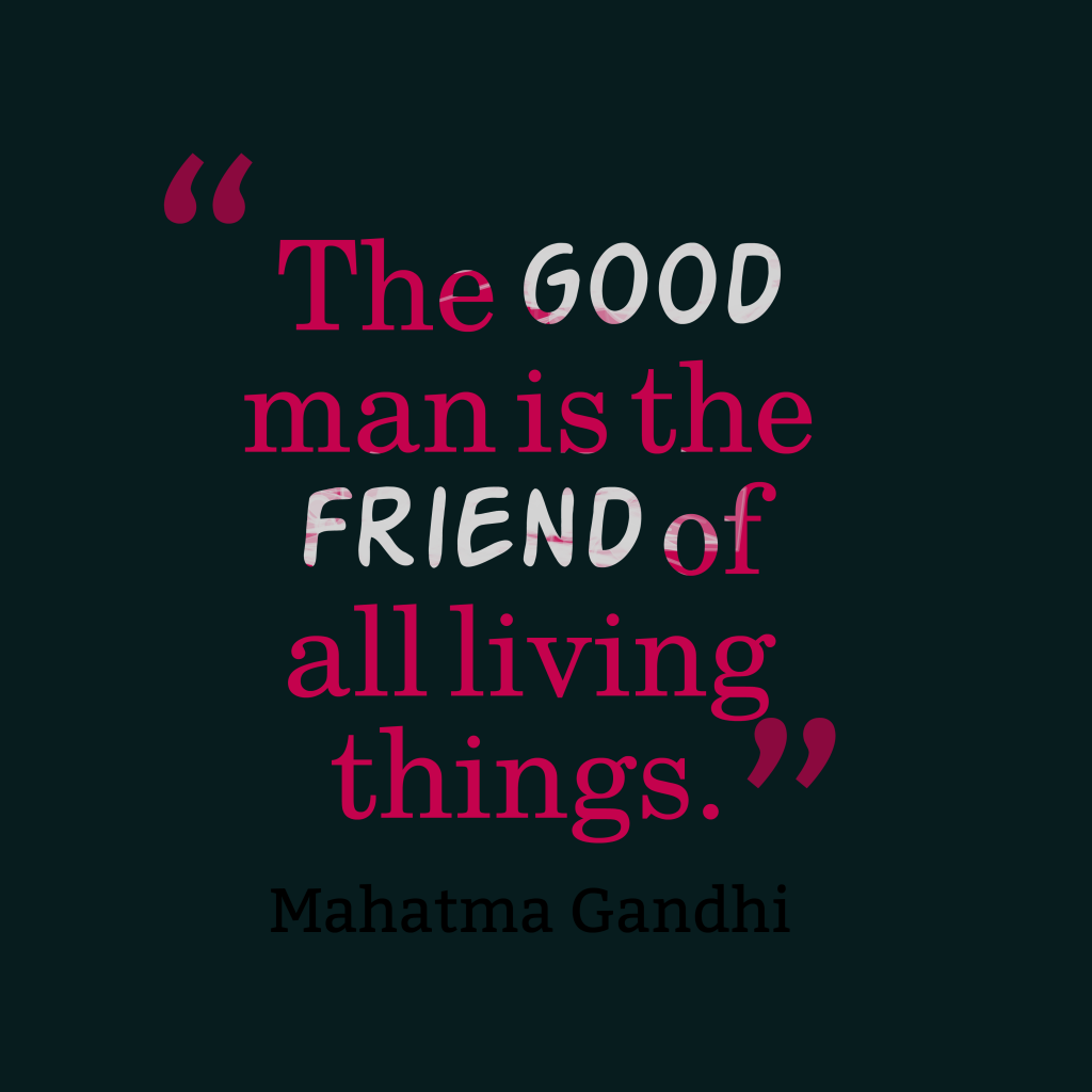 Good Men Quotes And Sayings: Picture » The Good Man