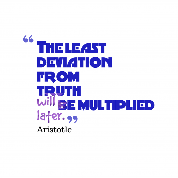 The least deviation