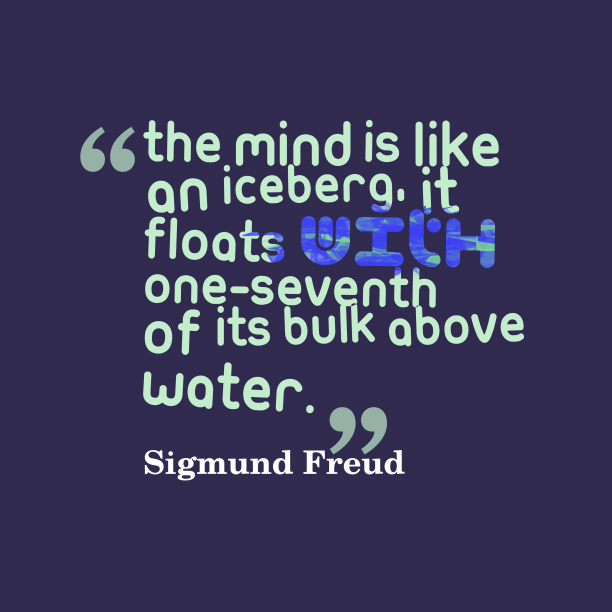 Sigmund Freud quote about mind.