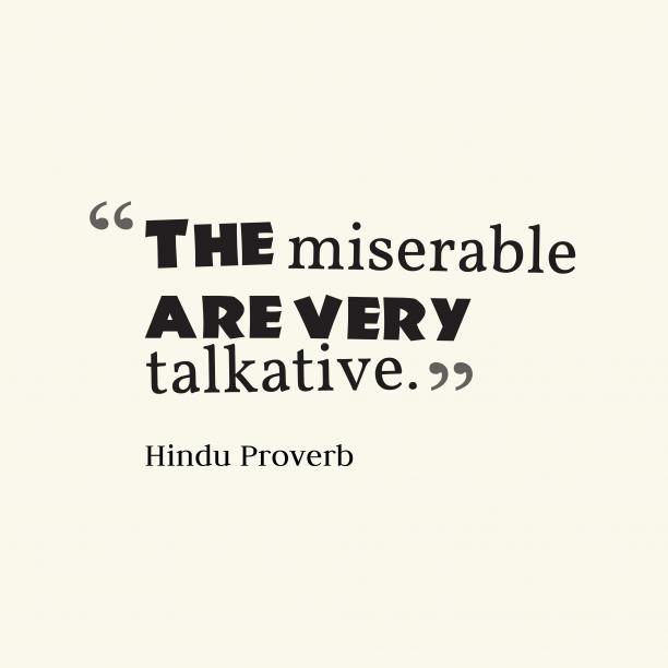 Hindu wisdom about sorrow.