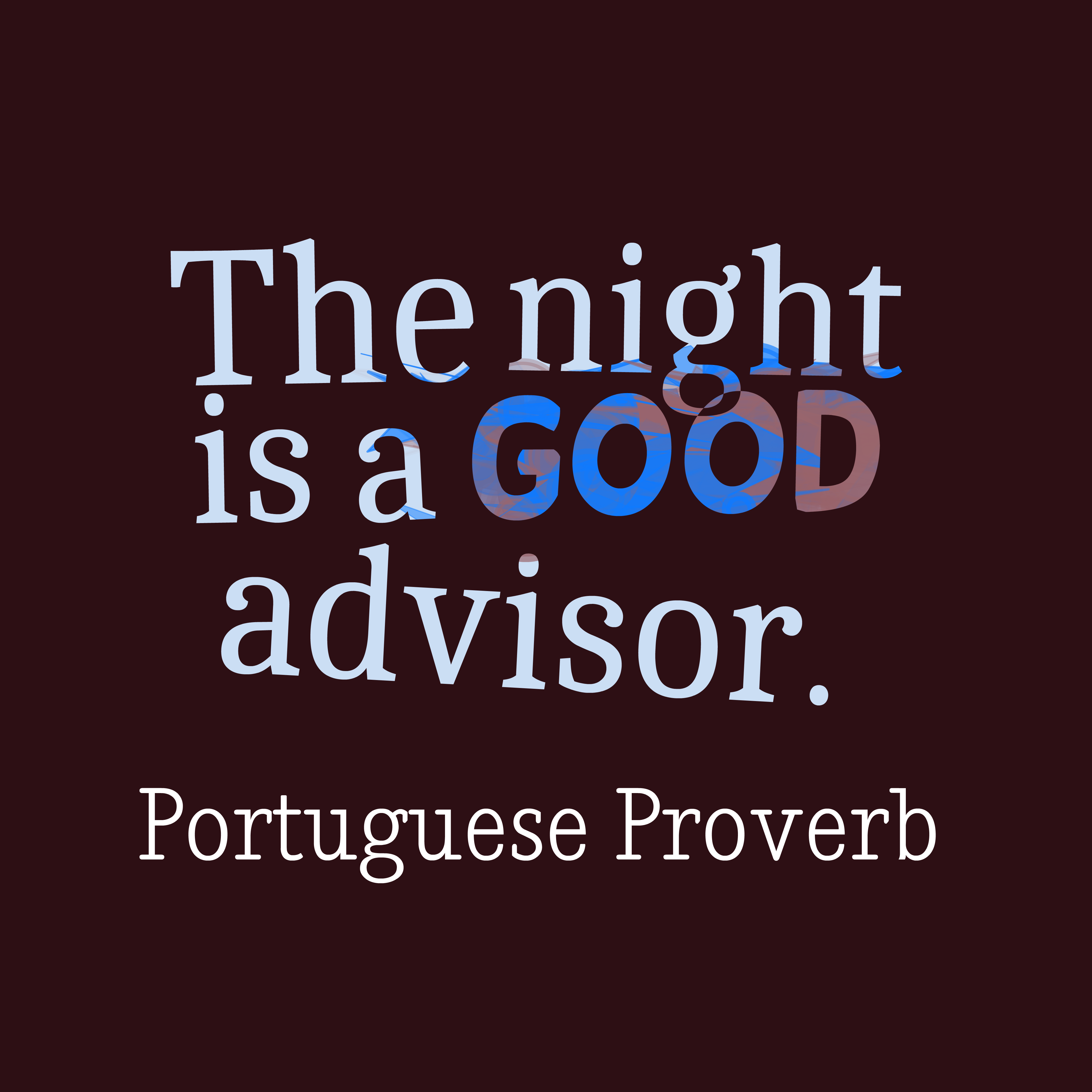 picture portuguese proverb about thinking quotescover