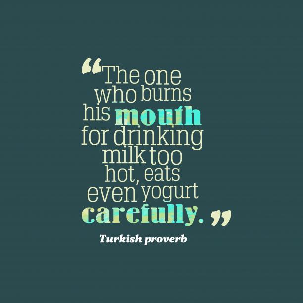 Turkish wisdom about teach.
