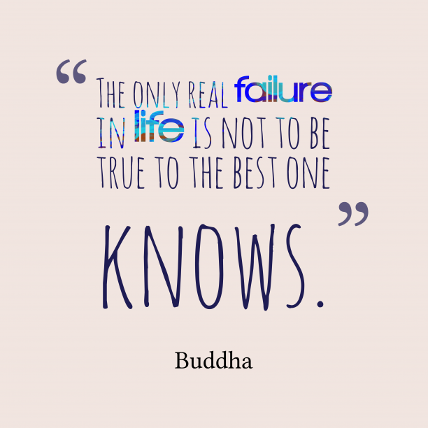 Buddha  quote about best.
