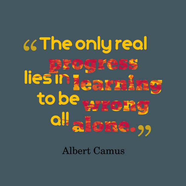 Albert Camus quote about alone.