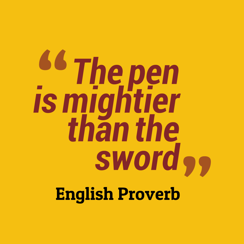 English proverb about idea