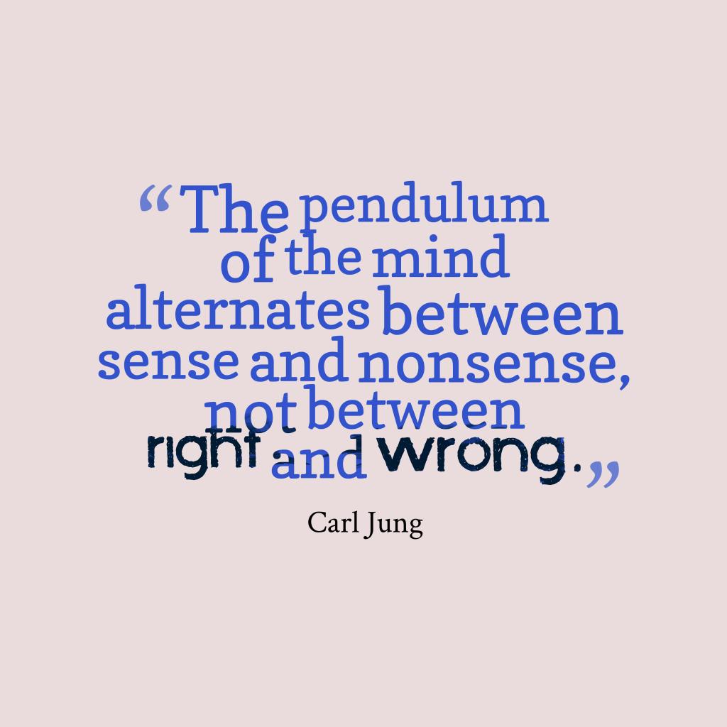 The pendulum of