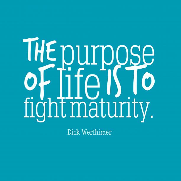 The purpose of