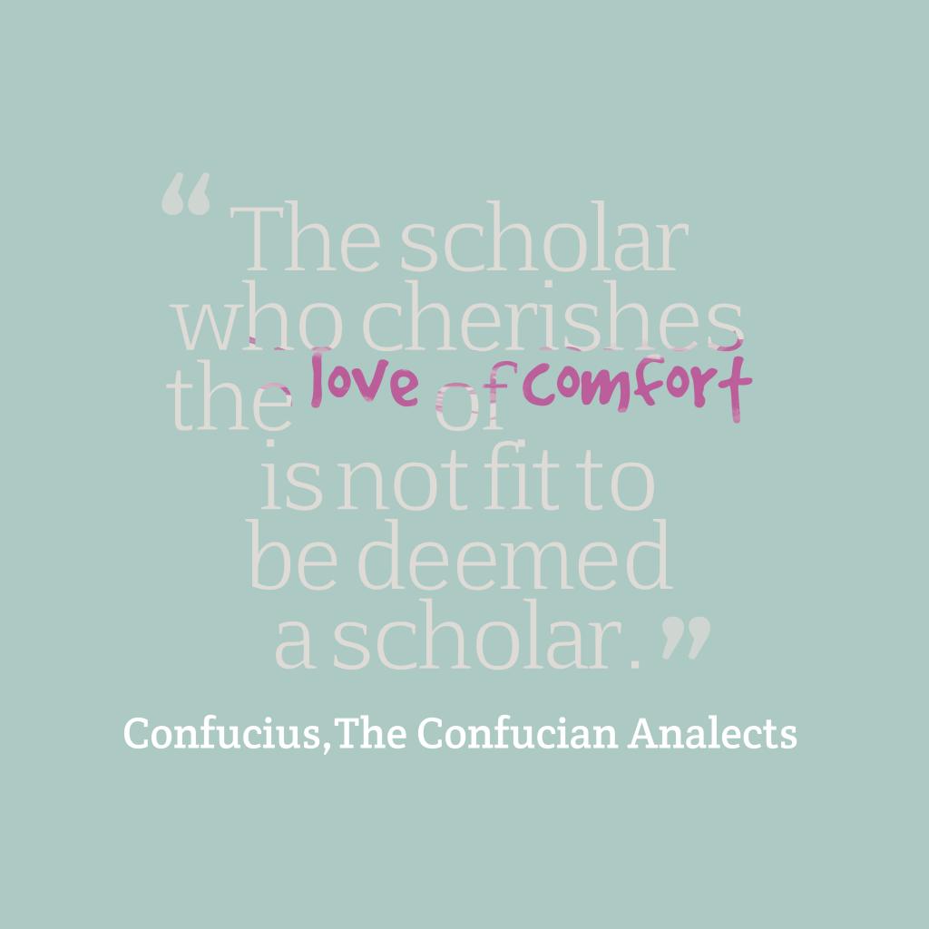The scholar who