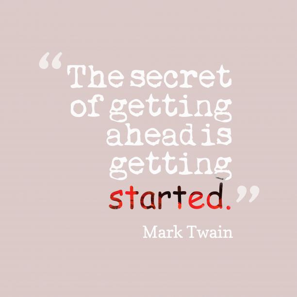Mark Twain quote about secret.