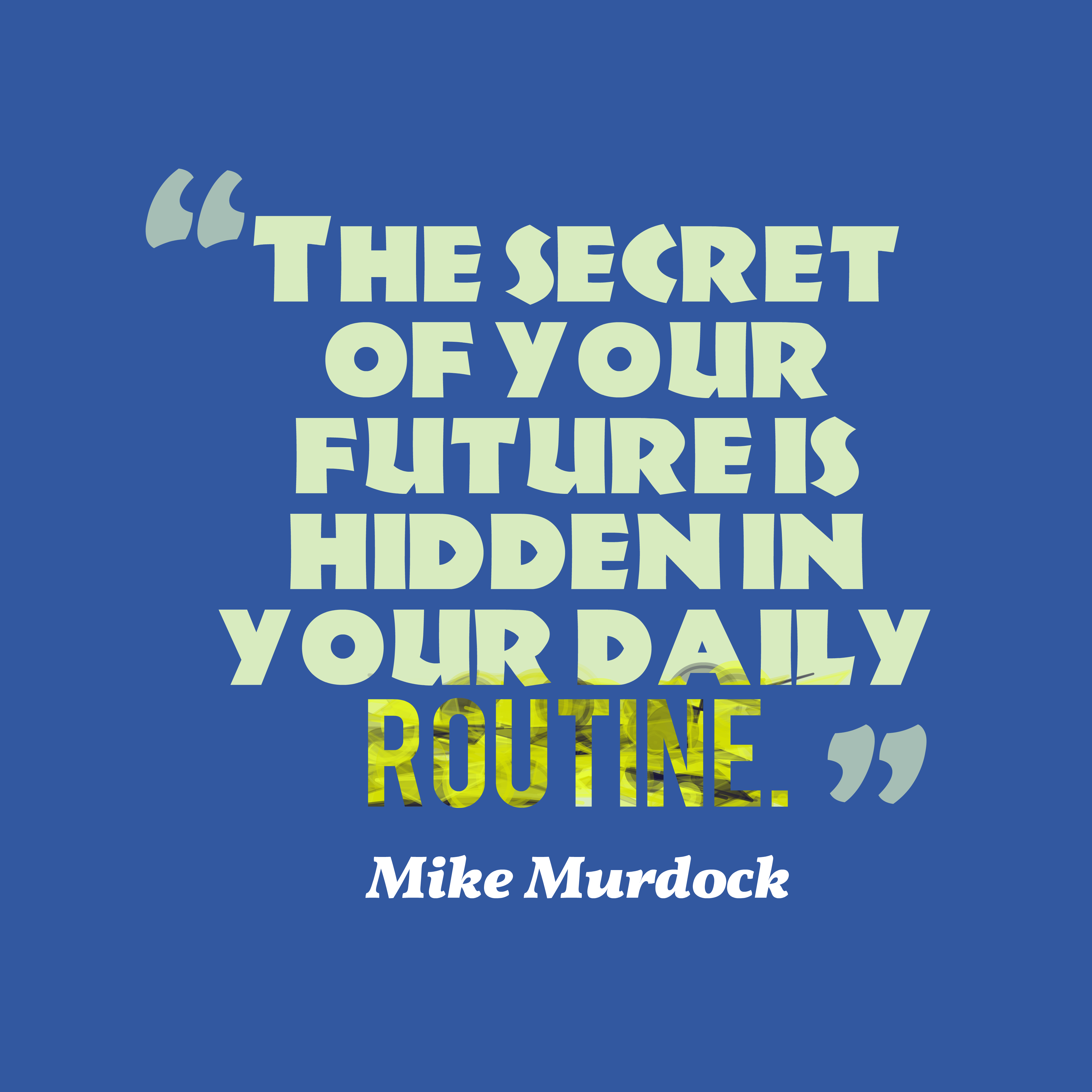 Mike Murdock Quotes: Picture » Mike Murdock Quote About Future