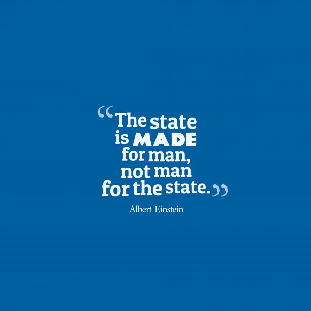 Albert Einstein quote about nation.