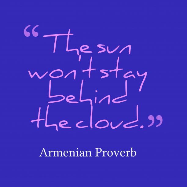 Armenian wisdom about truth.