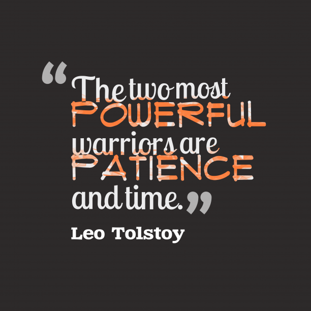 Leo Tolstoy quote about powerful.