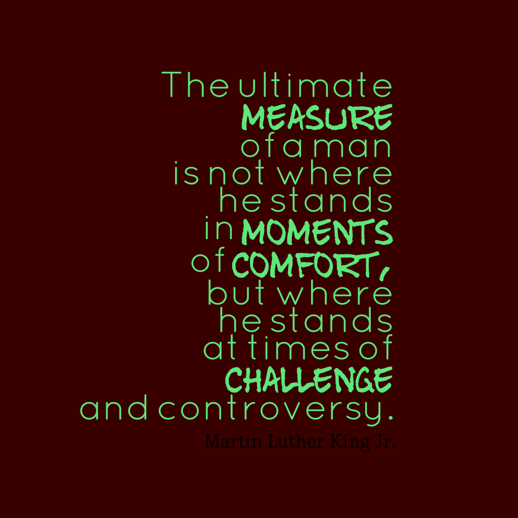 """The ultimate measure"