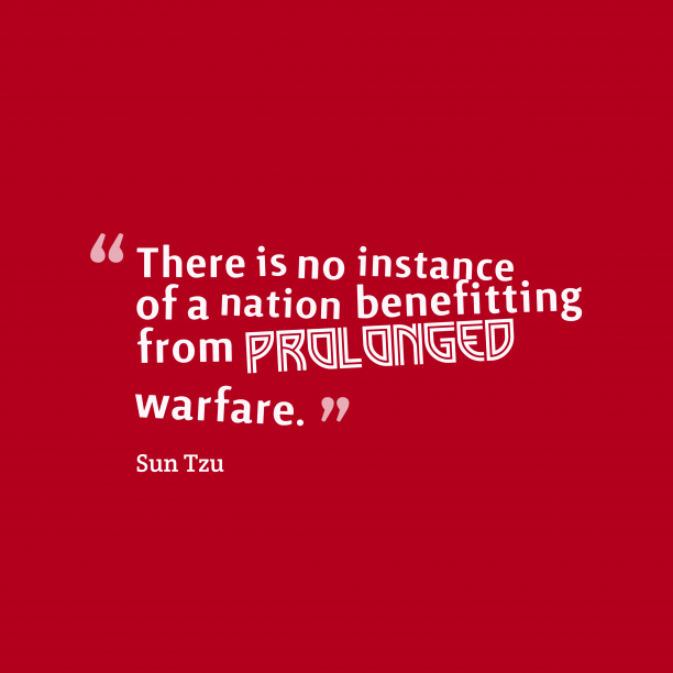 Best Sun Tzu Quotes: Sun Tzu Quote About Nation