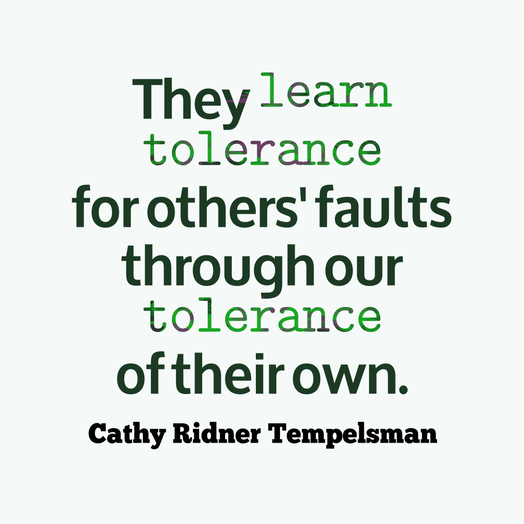 Cathy Ridner Tempelsman quote about forgiveness.