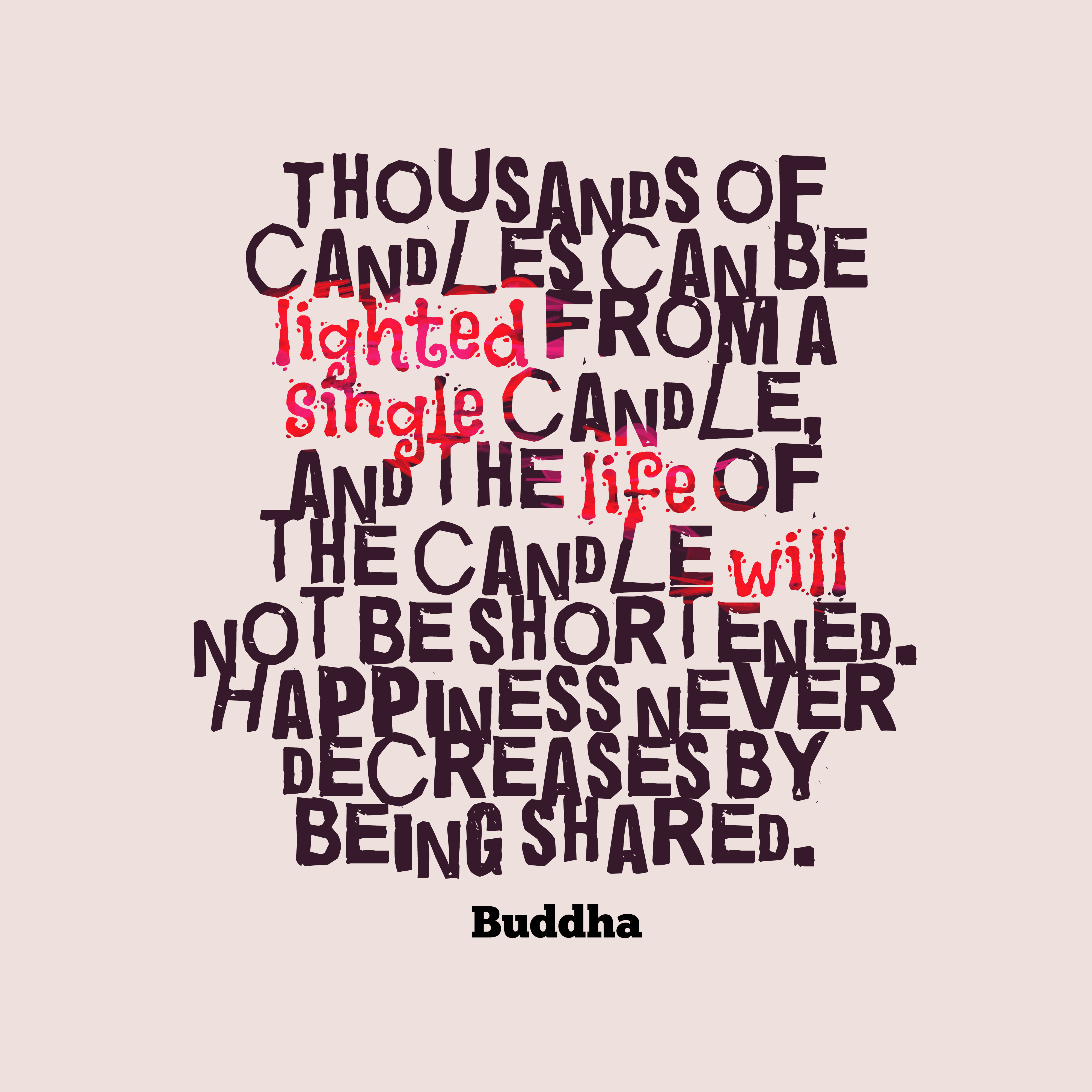 Buddha quote about life