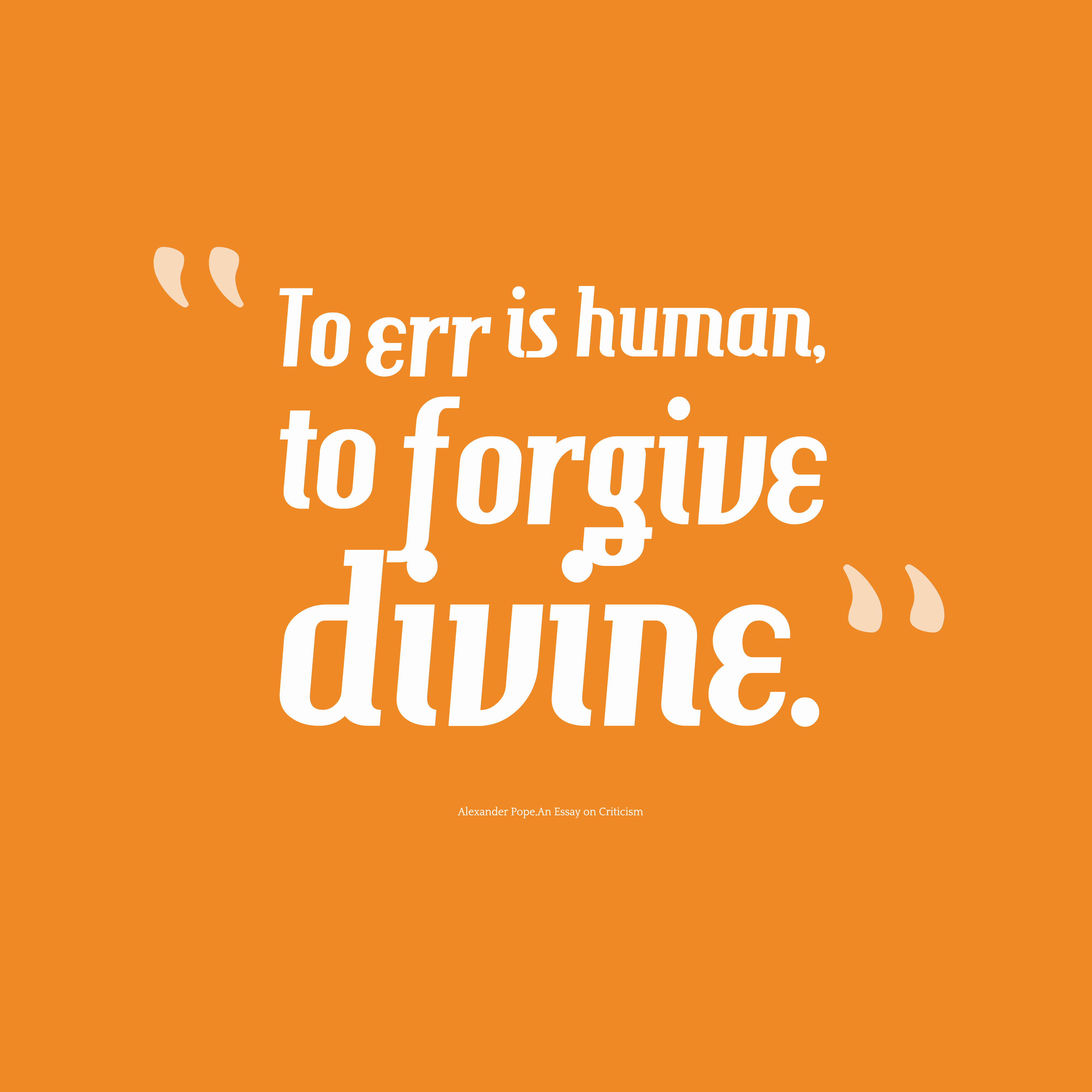 essay on forgiveness is a divine virtue