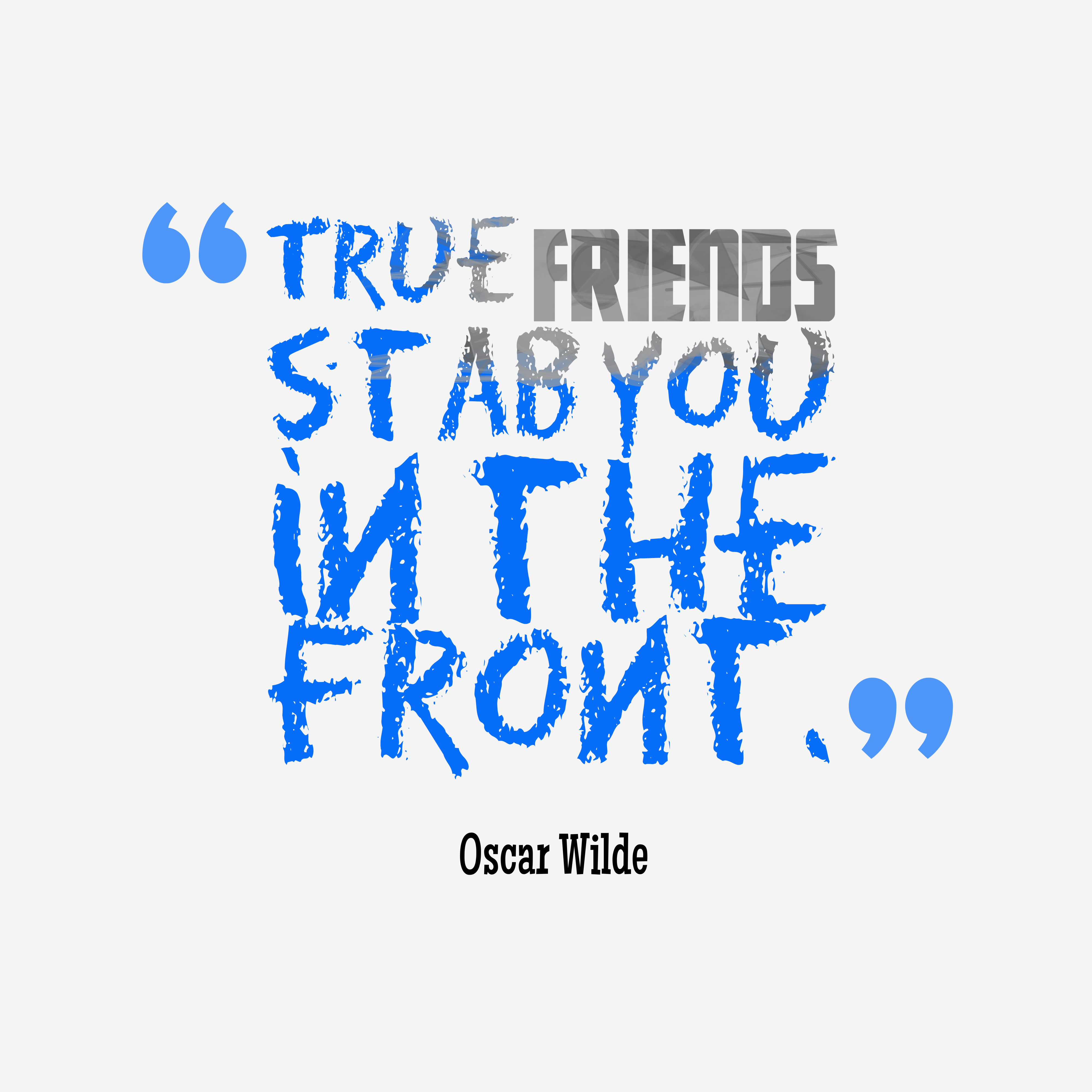 Oscar Wilde Quote About Friendship