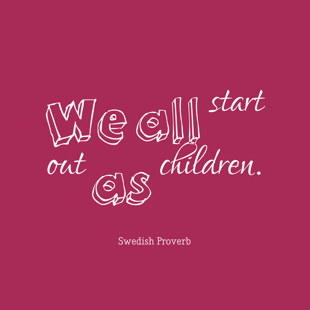 Swedish proverb about mistake.