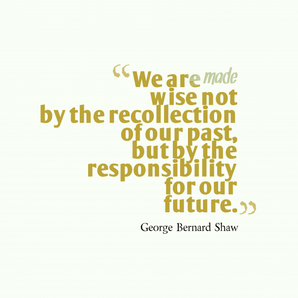 George Bernard Shaw quote about wisdom.