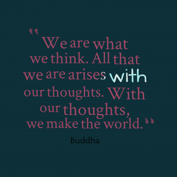 Buddha quote about think.
