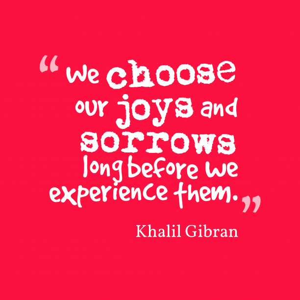Khalil Gibran quotes about experience.