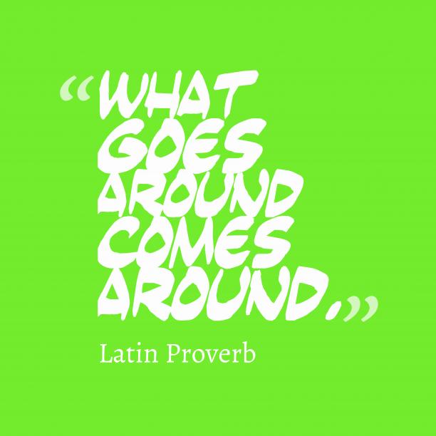 Latin wisdom about reward.