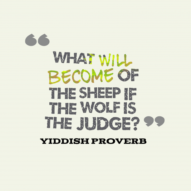 Yiddish Wisdom 's quote about . What will become of the…