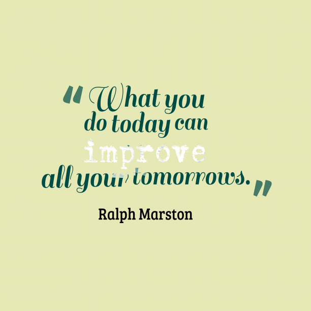 Ralph Marston quote about motivational.