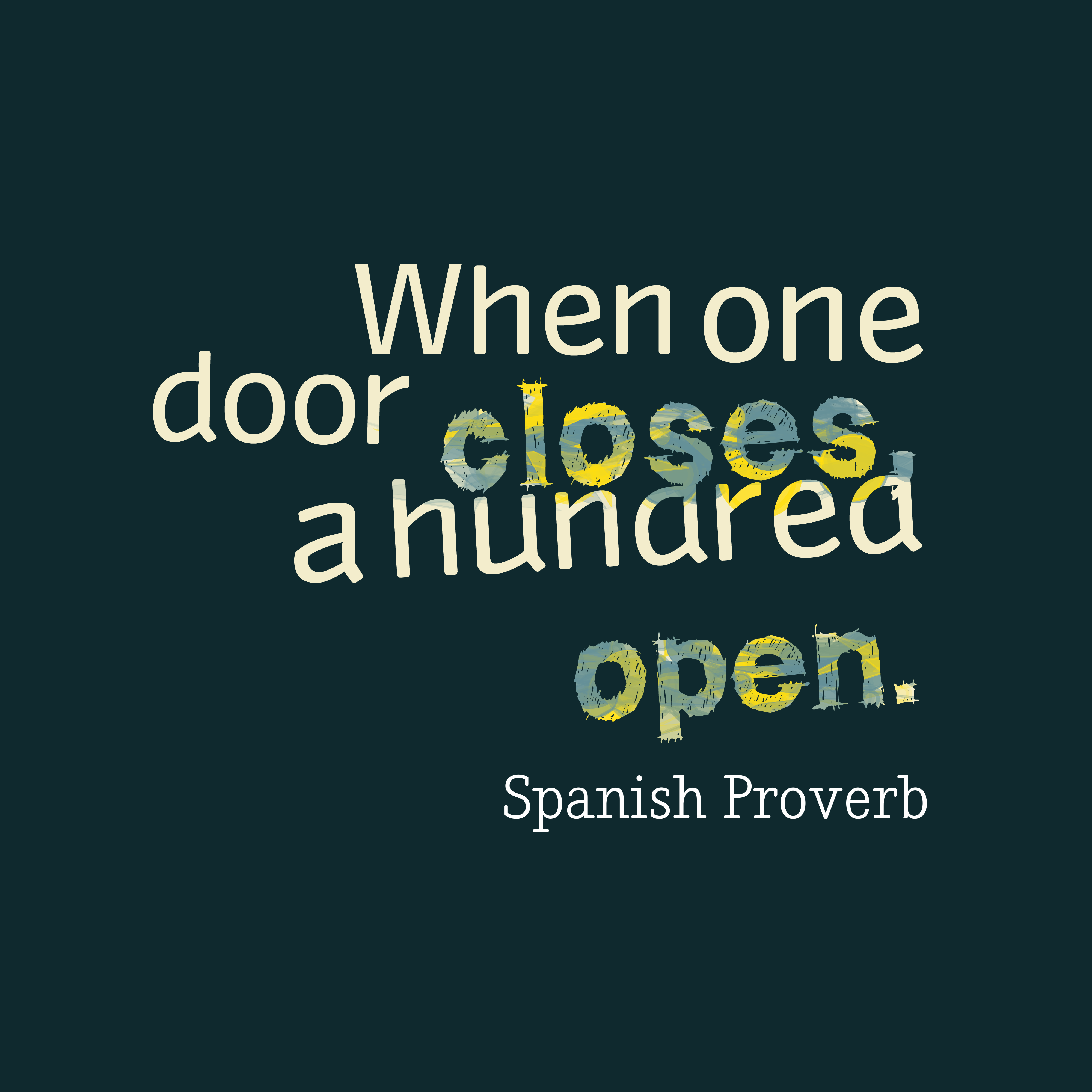 Spanish Proverb About Way