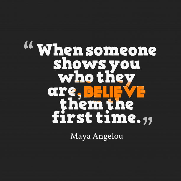 Maya Angelouquote about time.