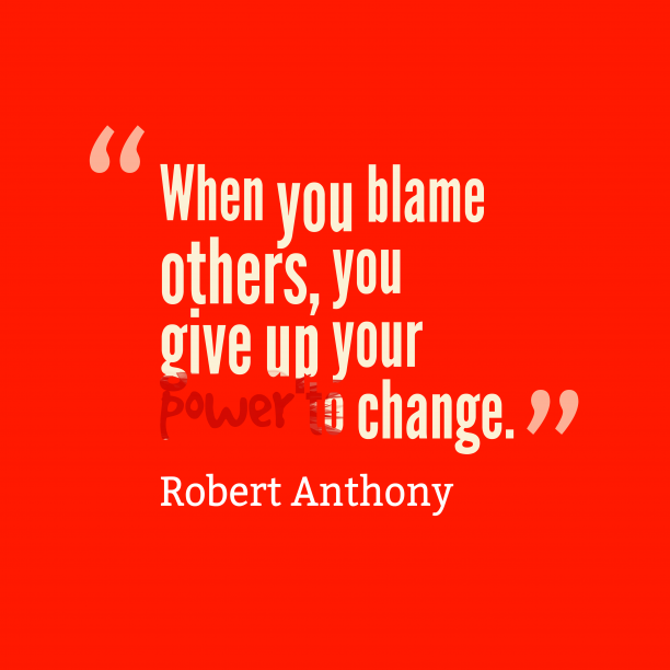 Robert Anthony quote about power.