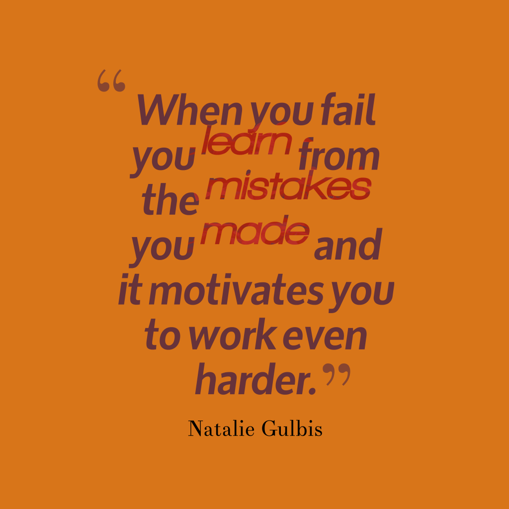 Natalie Gulbis quote about learn.