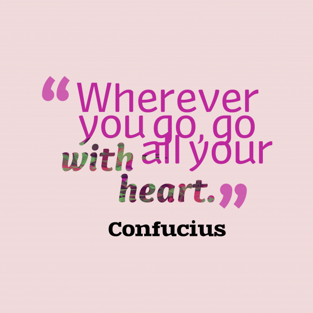 Confucius quote about travel.