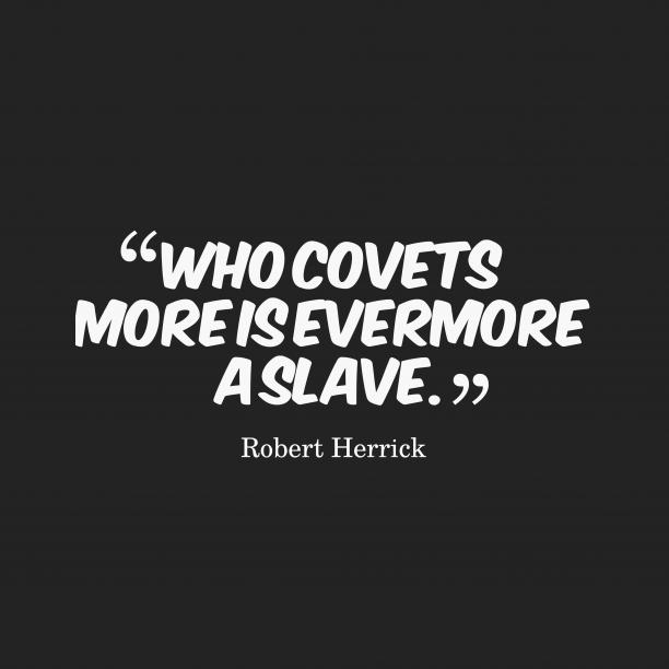 Robert Herrick quote about art.