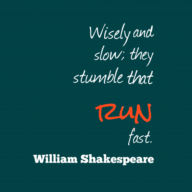 William Shakespeare quote about wisdom.
