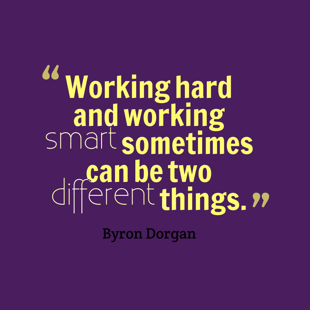 Smartass Quotes: Picture » Byron Dorgan Quote About Smart