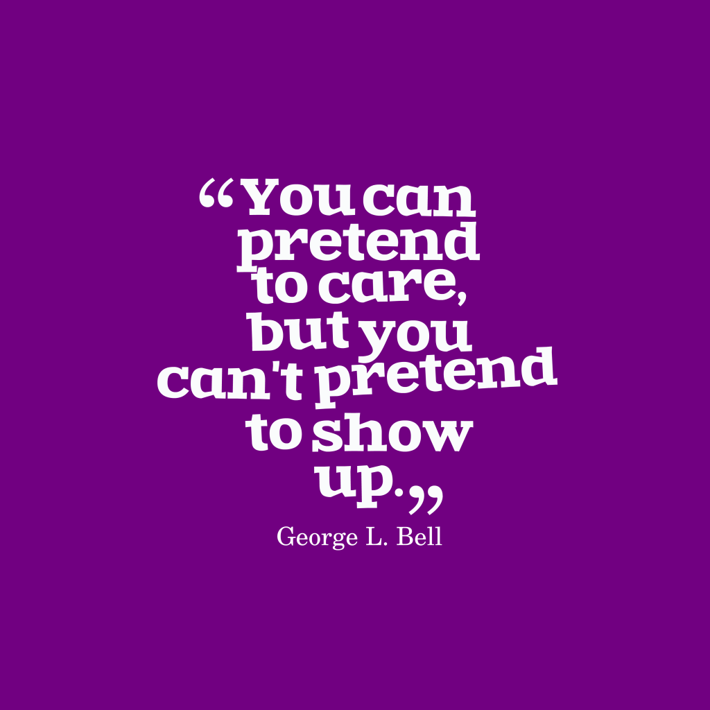 George L. Bell quote about responsibility.