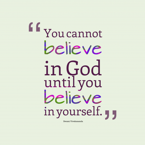 Swami Vivekananda quotes about believe.