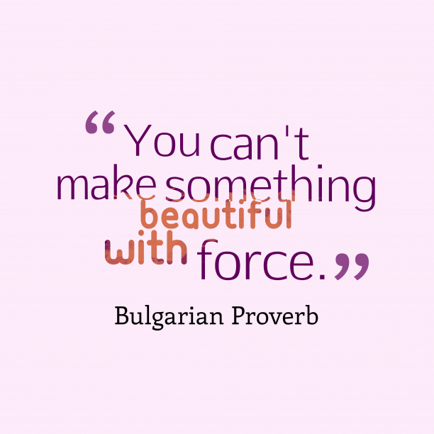 Bulgarian proverb about opportunity.