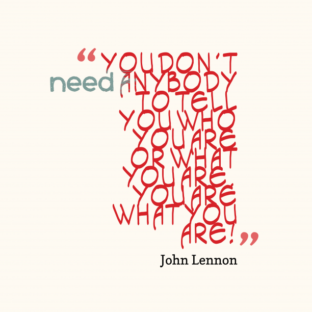 John Lennon quote about motivational.