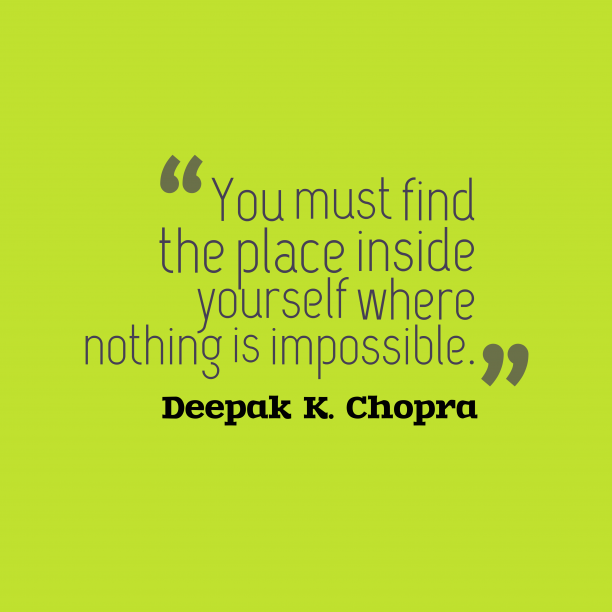 Deepak K. Chopra quote about soul.