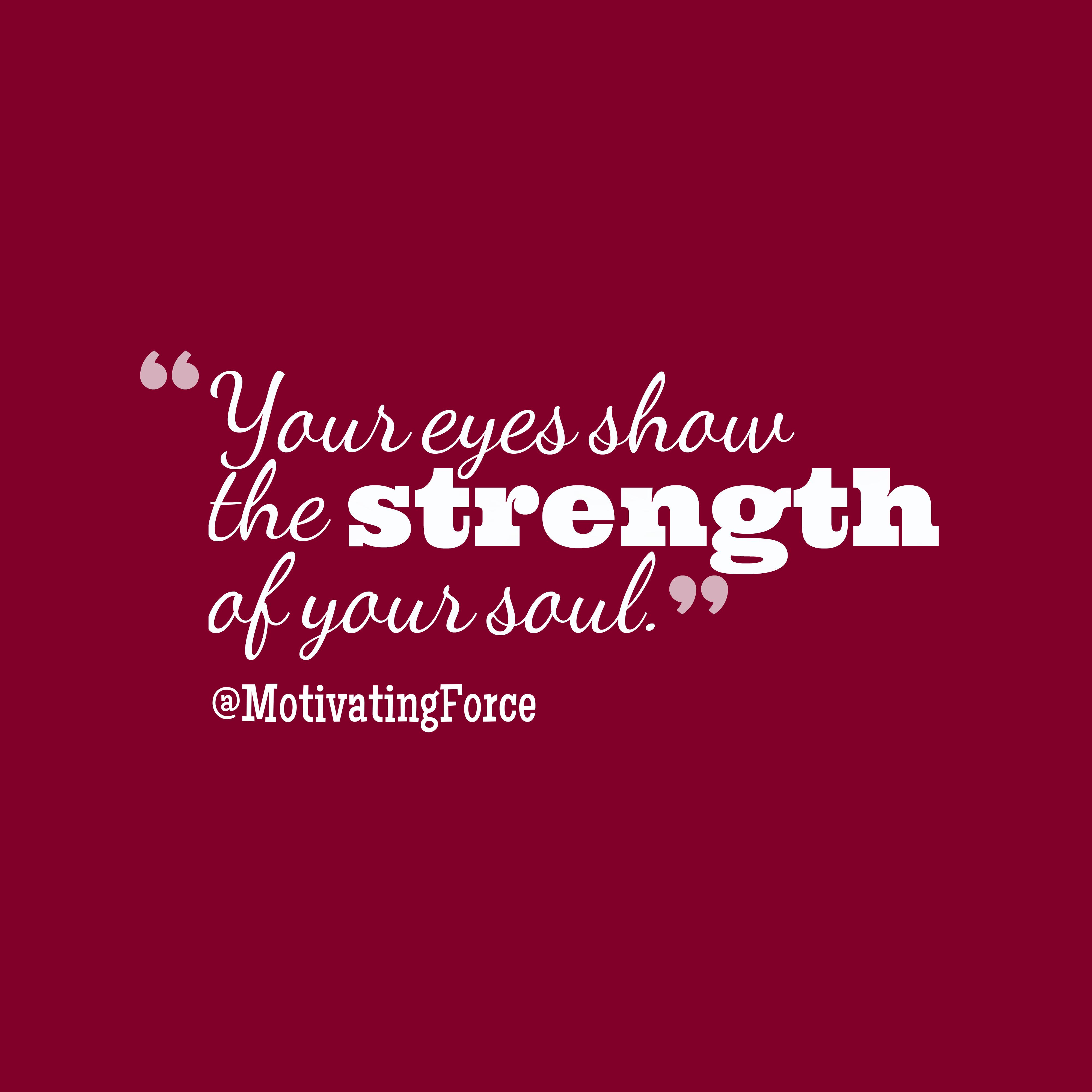 @MotivatingForce quote about soul.