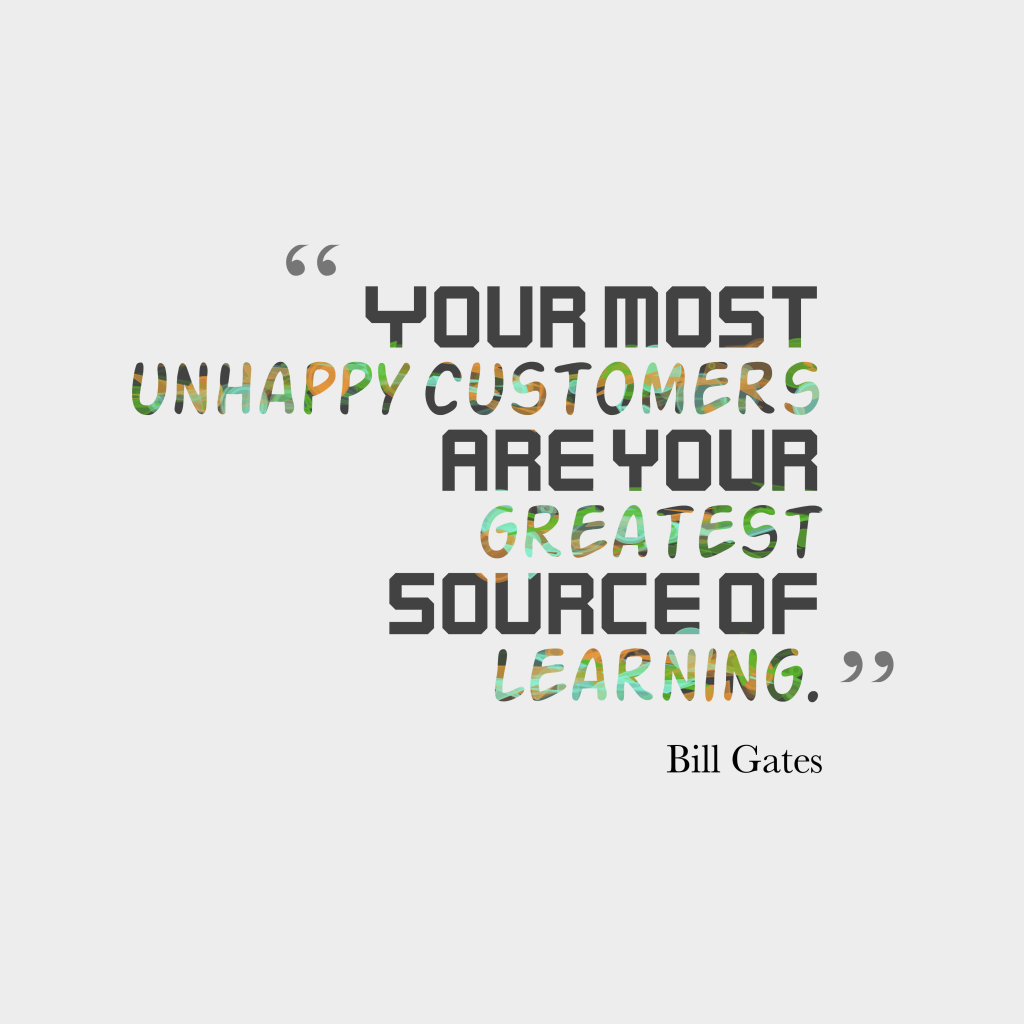 Bill Gates quote about learning.