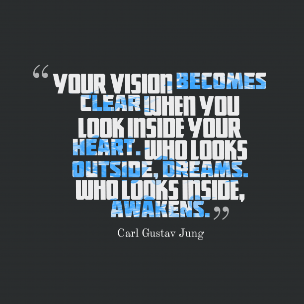 Carl Gustav Jung quote about dreams.